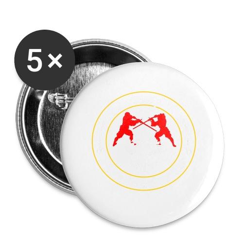 AHF club t-shirt (Womens) - Buttons large 56 mm