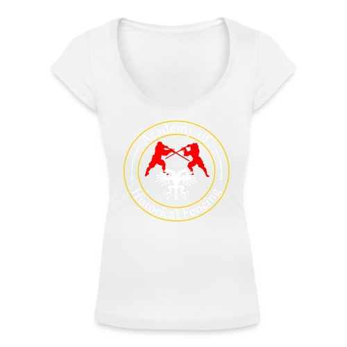 AHF club t-shirt (Womens) - Women's Scoop Neck T-Shirt