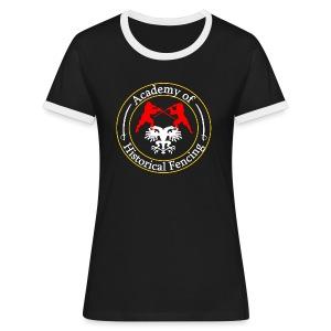 AHF club t-shirt (Womens) - Women's Ringer T-Shirt