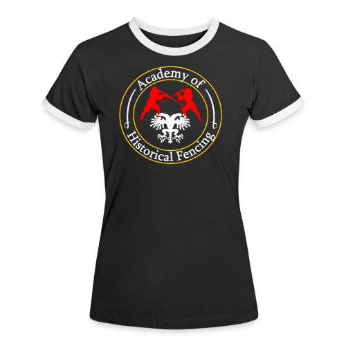 AHF club t-shirt (Womens) - Women's Ringer T-Shirt