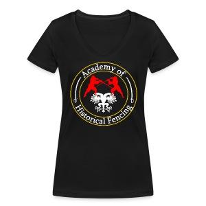 AHF club t-shirt (Womens) - Women's Organic V-Neck T-Shirt by Stanley & Stella