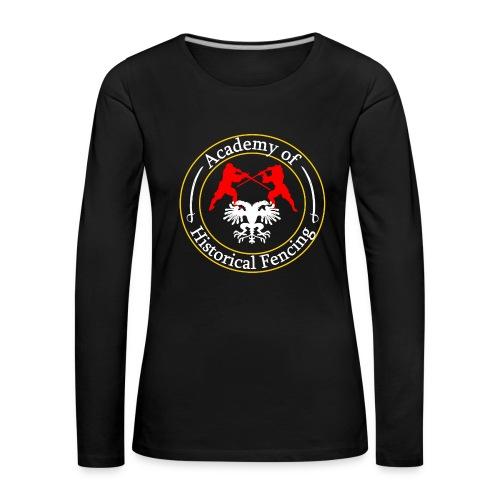 AHF club t-shirt (Womens) - Women's Premium Longsleeve Shirt