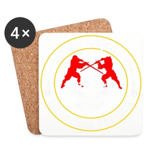 AHF club t-shirt (Womens) - Coasters (set of 4)
