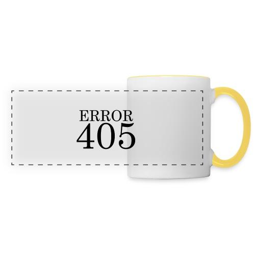 Error 405 Mug - Panoramic Mug