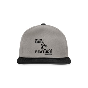 Not a Bug Shopping Bag - Snapback Cap