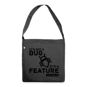 Not a Bug Shopping Bag - Schultertasche aus Recycling-Material