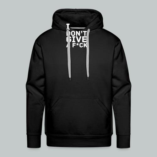 idgaf homme - Sweat-shirt à capuche Premium pour hommes