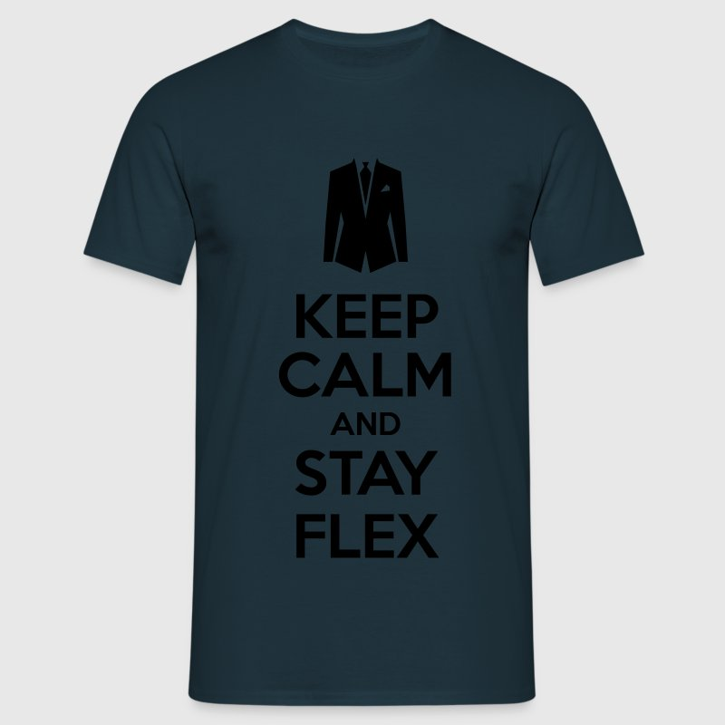 Keep calm and stay Flex Tee shirts - T-shirt Homme