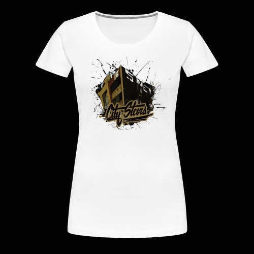 City Stars SNE Crew - Frauen Premium T-Shirt