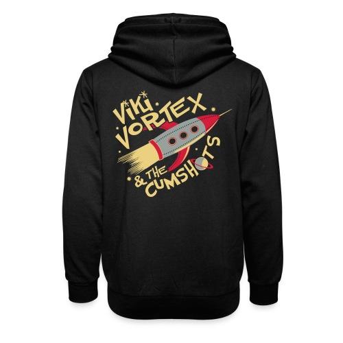 Black Sweatshirt New Logo - Shawl Collar Hoodie