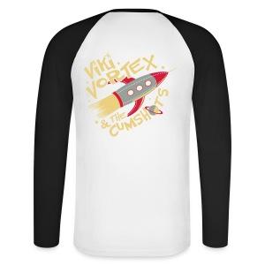 Black Sweatshirt New Logo - Men's Long Sleeve Baseball T-Shirt