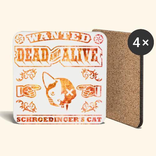 Schrödingers Katze, Kerlie - Untersetzer (4er-Set)