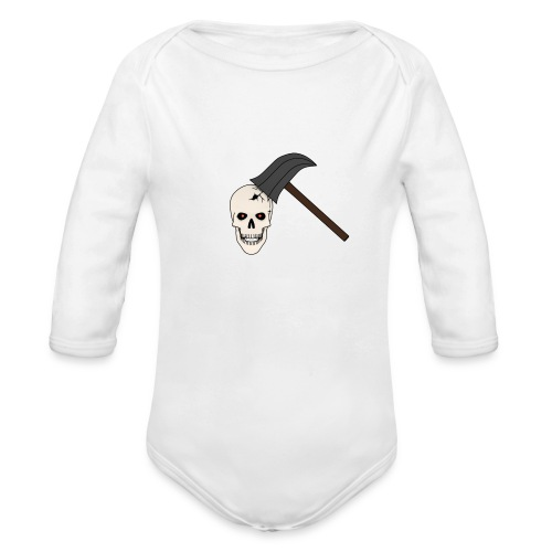 Skullcrusher Teenager T - Baby Bio-Langarm-Body
