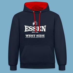 Essen West Side - Kontrast-Hoodie