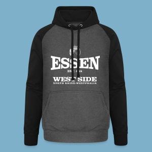 Essen West Side - Unisex Baseball Hoodie
