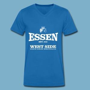 Essen West Side - Männer Bio-T-Shirt mit V-Ausschnitt von Stanley & Stella
