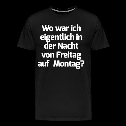 Gute Nacht - Männer Premium T-Shirt