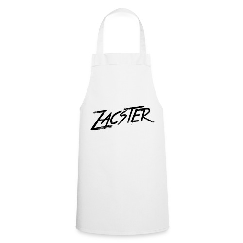 ZACSTER Womens White T-Shirt - Cooking Apron