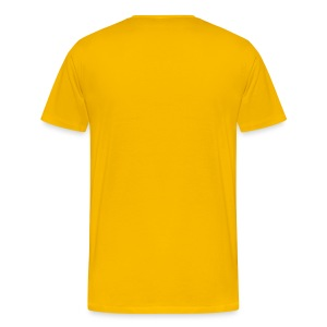 High Visibility Vest - Men's Premium T-Shirt