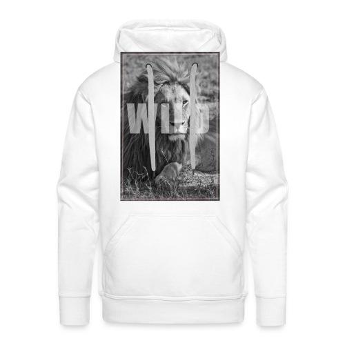 pull wild - Sweat-shirt à capuche Premium pour hommes