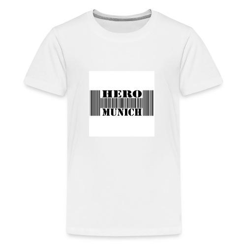 Barcode Body Kurzarm Baby - Teenager Premium T-Shirt