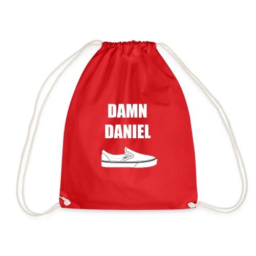 Damn Daniel Red - Drawstring Bag