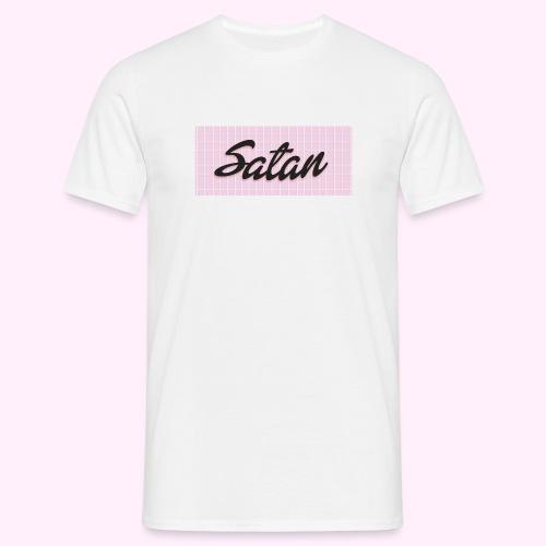Satan baseball cap - Miesten t-paita