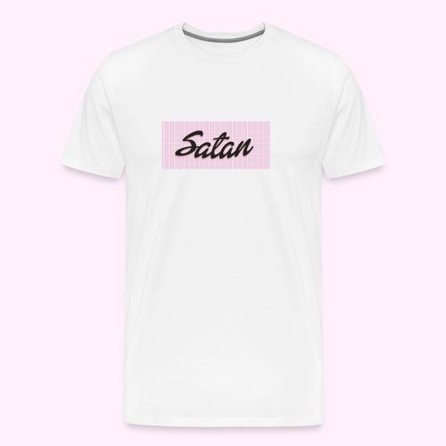 Satan baseball cap - Miesten premium t-paita
