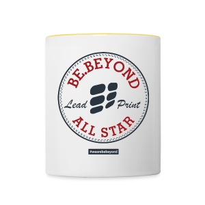 All Star Button - Tasse zweifarbig
