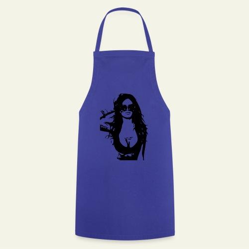 T-shirt sexy woman - Kochschürze