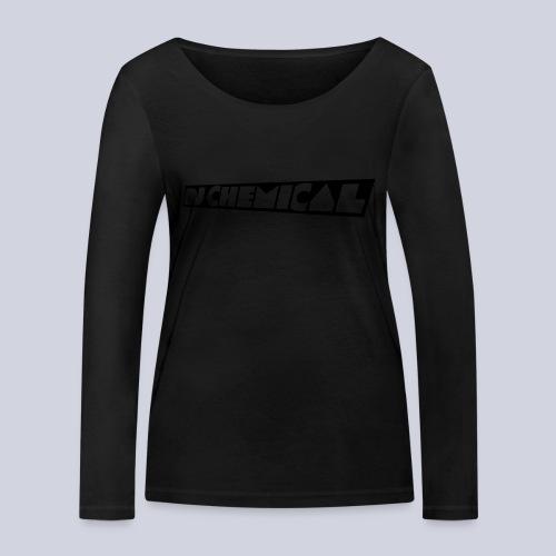 DJ Chemical Frauen T-Shirt Schwarz - Frauen Bio-Langarmshirt von Stanley & Stella