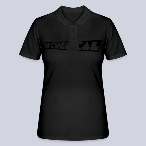 DJ Chemical Frauen T-Shirt Schwarz - Frauen Polo Shirt
