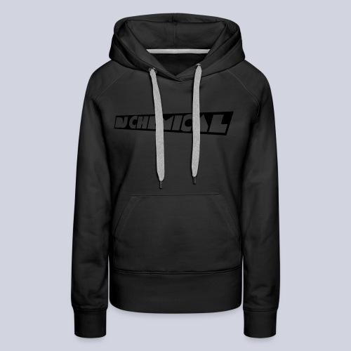DJ Chemical Frauen T-Shirt Schwarz - Frauen Premium Hoodie