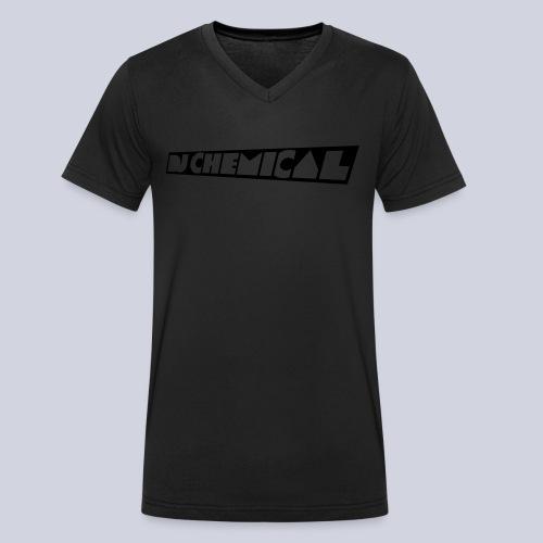 DJ Chemical Frauen T-Shirt Schwarz - Männer Bio-T-Shirt mit V-Ausschnitt von Stanley & Stella