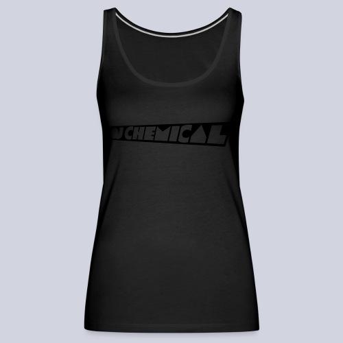 DJ Chemical Frauen T-Shirt Schwarz - Frauen Premium Tank Top