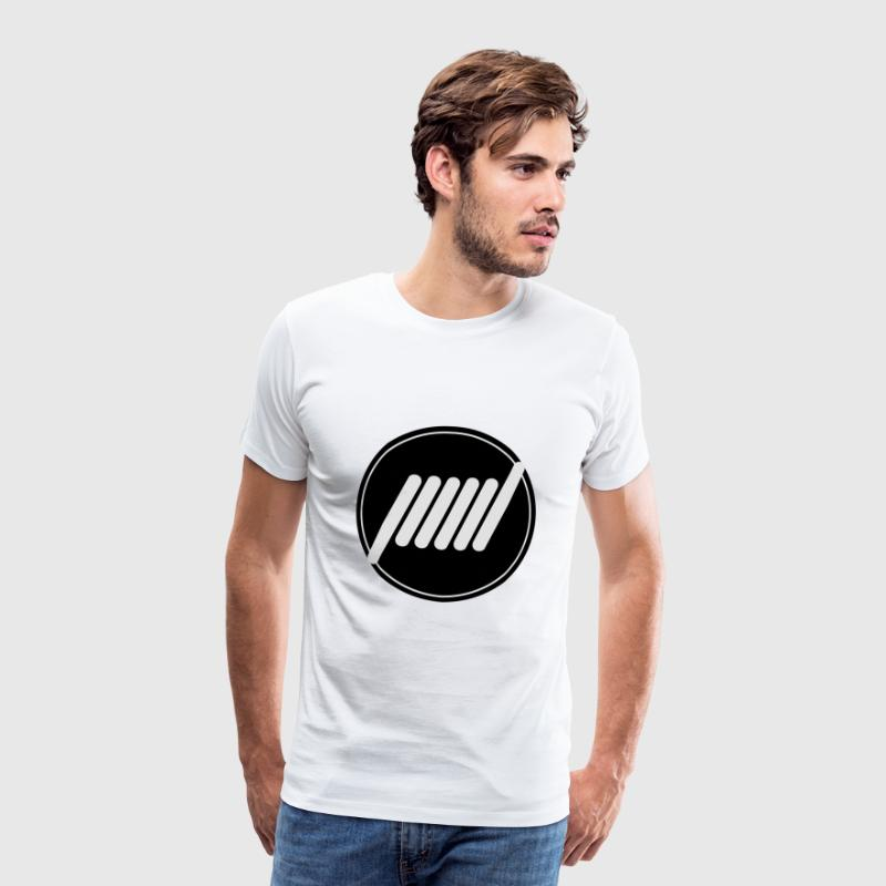 Vape T-shirt icon Coil T-Shirts - Men's Premium T-Shirt