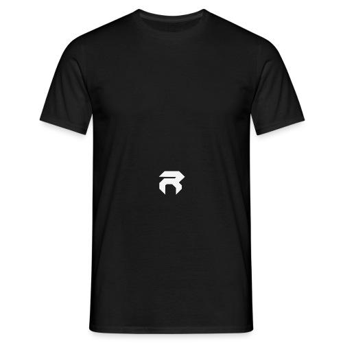 REX SNAPBACK - BLK ON WHT - Men's T-Shirt