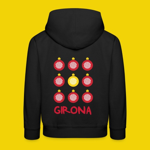 Teenage Girona Badge T-Shirt (On Black) - Kids' Premium Hoodie