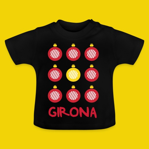 Teenage Girona Badge T-Shirt (On Black) - Baby T-Shirt