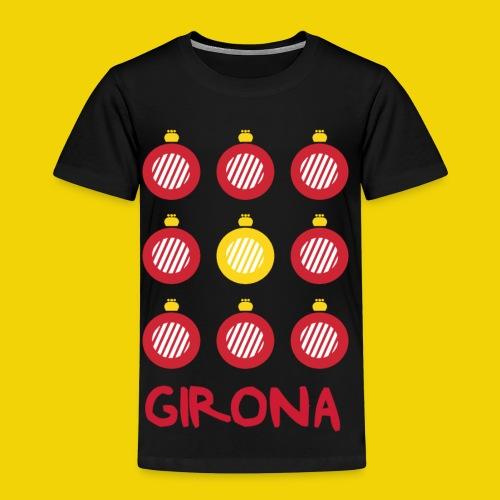 Teenage Girona Badge T-Shirt (On Black) - Kids' Premium T-Shirt