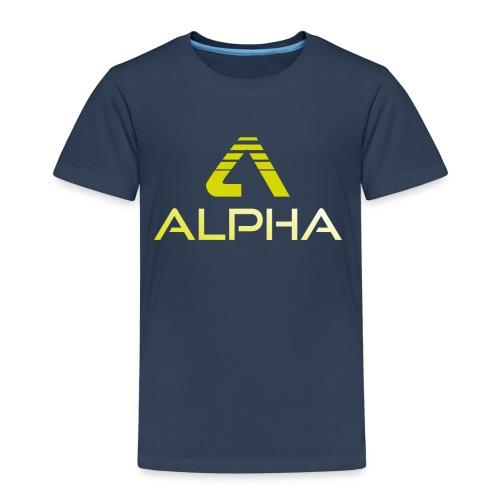 Alpha Kindershirt - Kinder Premium T-Shirt