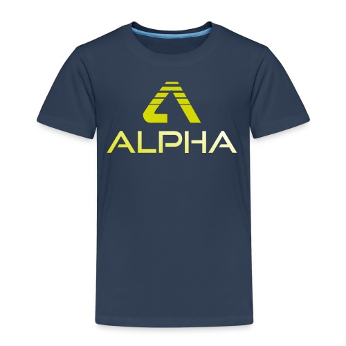 Alpha Kindershirt - Kinder Premium T-Shirt