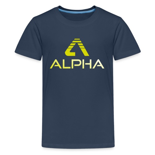 Alpha Kindershirt - Teenager Premium T-Shirt