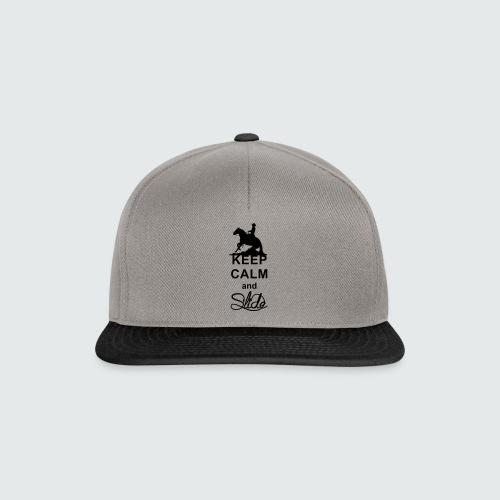 Motiv-162-Schwarz - Snapback Cap