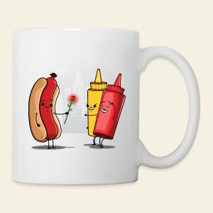 Romance Hot Dog et Ketchup - Tasse