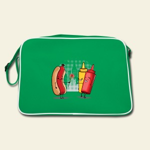 Romance Hot Dog et Ketchup - Sac Retro