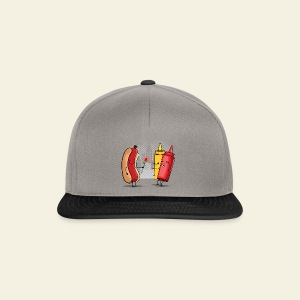 Romance Hot Dog et Ketchup - Casquette snapback