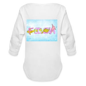 Teenager T-Shirt - Baby Bio-Langarm-Body