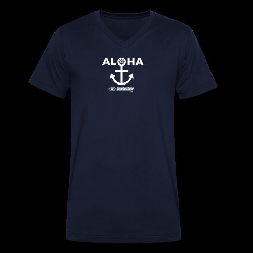 TankTop Al()ha - Männer Bio-T-Shirt mit V-Ausschnitt von Stanley & Stella
