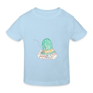 All I care about is myself baby bib - Kids' Organic T-shirt